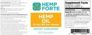 Hemp Forte CBD