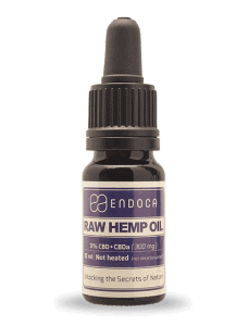 Endoca RAW Hemp Oil Drops 300mg