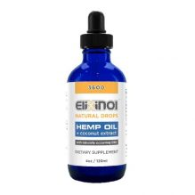 Elixinol CBD Drops 3600mg Natural Flavor
