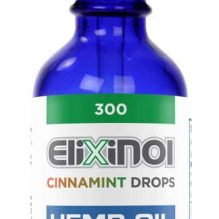 Elixinol Hemp Oil Drops 300 Cinnamint