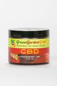 Green Garden Gold Strawberry CBD Jam