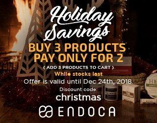 Endoca Holiday CBD Sale