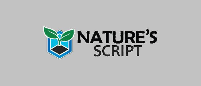 Natures Script affiliate