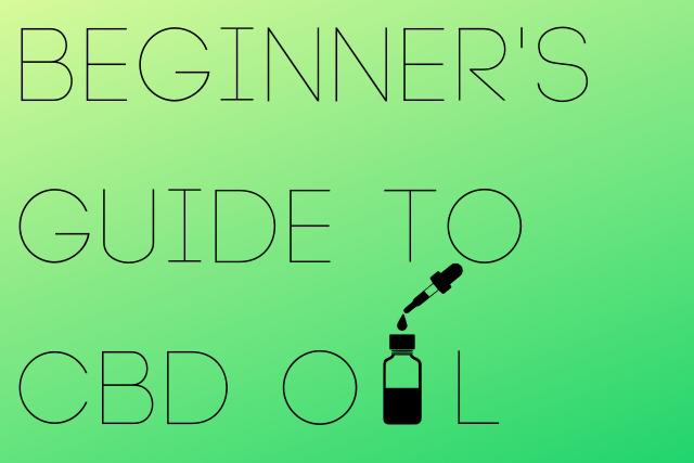 """Digital Poster of """"Beginner's Guide to CBD Oil"""""""