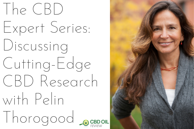 header image for CBD Expert Series interview with Pelin Thorogood