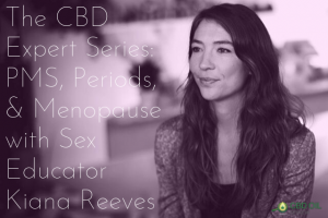 CBD Expert Series interview with Kiana Reeves header image