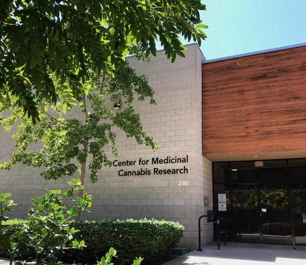 image of UCSD's Center for Medicinal Cannabis Research
