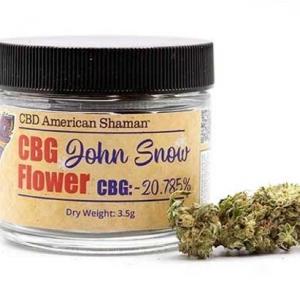 CBD American Shaman CBG Flower Image