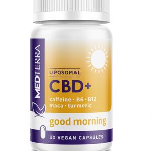 Medterra GOOD MORNING LIPOSOMAL CBD+ Capsules Image