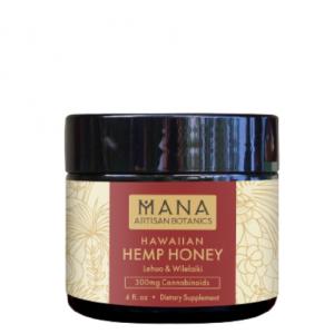 Mana Artisan Botanics CBD Honey Image