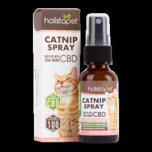 Holistapet Catnip Spray with CBD Image