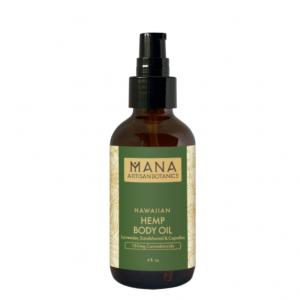 Mana Artisan Botanics Hemp Body Oil: Lavender, Sandalwood & Copaiba Image
