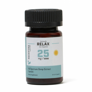 Receptra Naturals Seriously Relax Gel Capsules Image