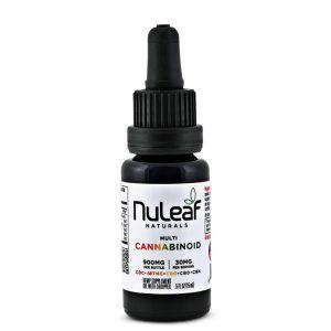 Nuleaf Naturals Full Spectrum Multicannabinoid Oil Image