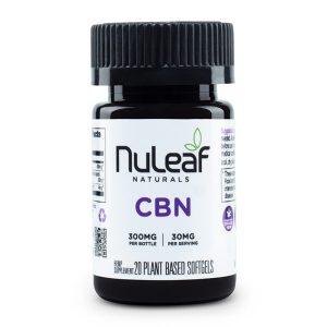 Nuleaf Naturals Full Spectrum CBN Capsules Image