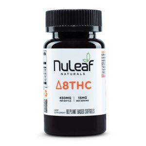 Nuleaf Naturals Full Spectrum Delta 8 THC Capsules Image
