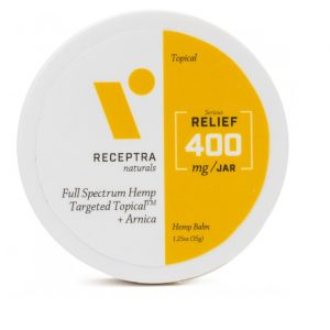 Receptra Naturals Serious Relief + Arnica Targeted Topical Image
