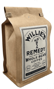 Willie's Remedy Logo