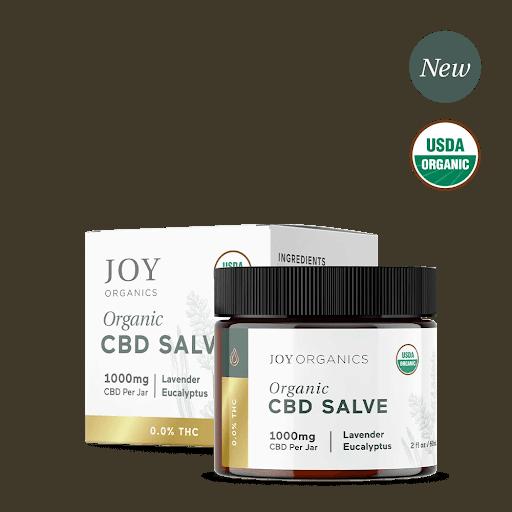 Joy Organics CBD Organic Salve