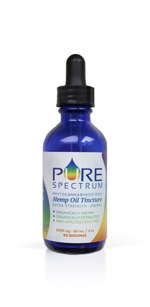 2500mg Hemp Oil Tincture