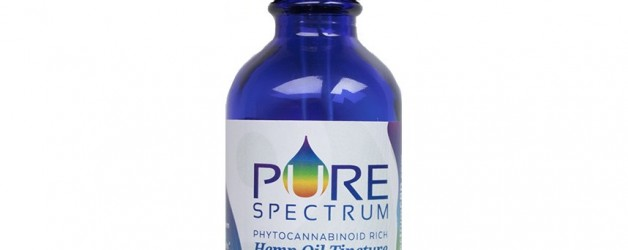 Pure Spectrum XL Hemp Oil Tincture  (2500mg)