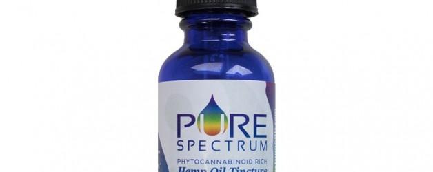 Pure Spectrum XL Hemp Oil Tincture  (1250mg)