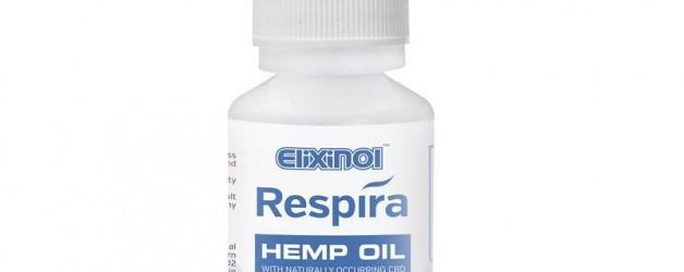 Elixinol Respira Hemp Oil (300mg) Grape Mint Flavor