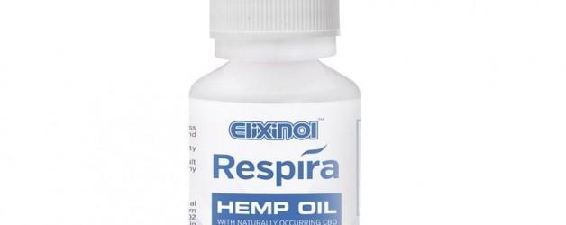 Elixinol Respira Hemp Oil (300mg) Natural Flavor