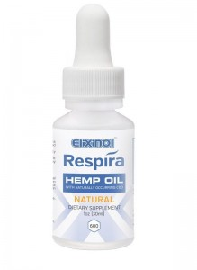 Elixinol Respira Hemp Oil (600mg) Natural Flavor