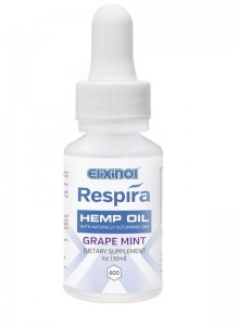 Elixinol Respira Hemp Oil (600mg) Grape Mint Flavor