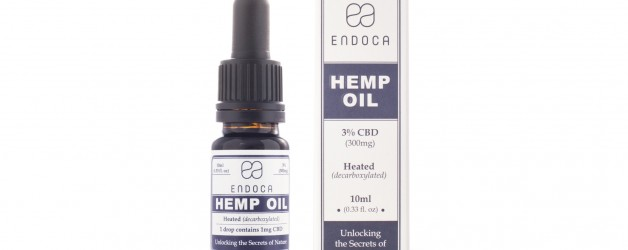 Endoca Hemp Oil Drops (300mg) (3%)