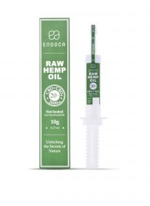 Endoca RAW Hemp Oil (2000mg) CBD+CBDa (20%)