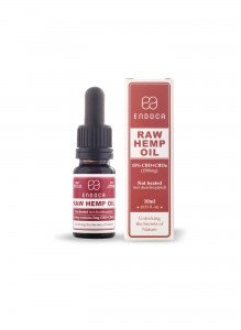 Endoca RAW Hemp Oil Drops (1500mg) CBD+CBDa (15%)