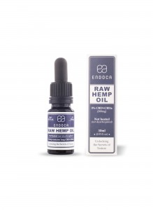 Endoca RAW Hemp Oil Drops (300mg) CBD+CBDa (3%)