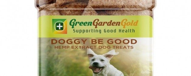 Green Garden Gold – Gluten Free Doggy Be Good – CBD Dog Treats