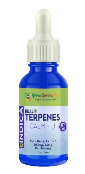 Real Terpenes – Indica CBD Tincture