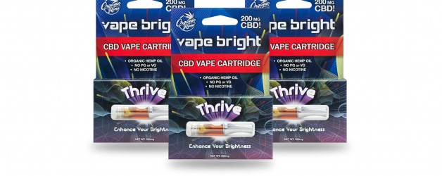 Vape Bright 3 Pack – Thrive CBD Vape Cartridge – 600mg