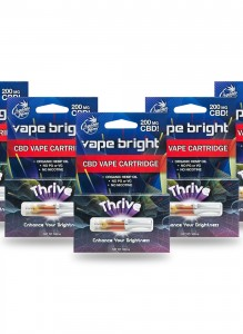 Vape Bright 5 Pack – Thrive CBD Vape Cartridge – 1000mg
