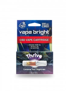 Vape Bright Thrive CBD Vape Cartridge – 200mg