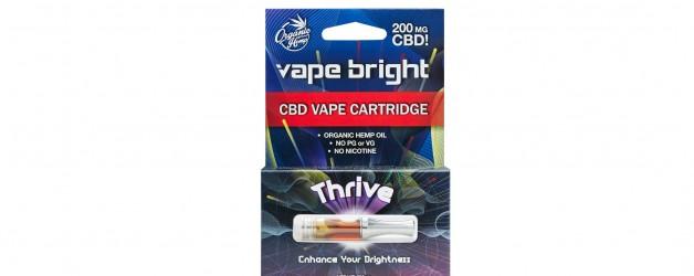 Vape Bright Thrive CBD Vape Cartridge – 200mg