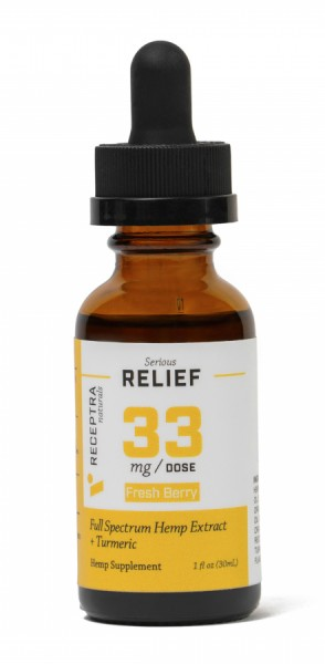 receptra Serious relief and tumeric 33mg