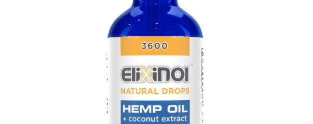 Elixinol Hemp Oil Drops (3600mg)