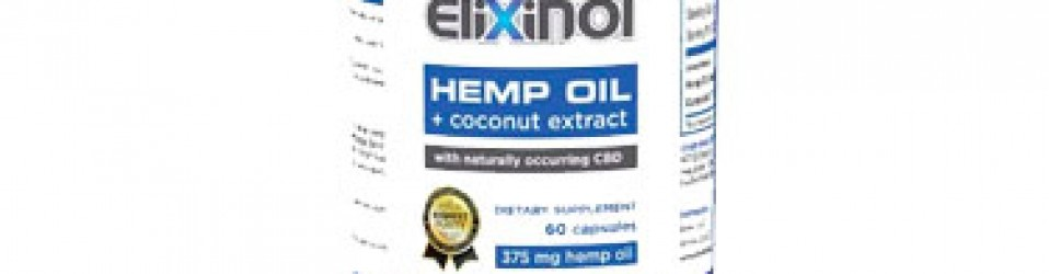 Elixinol CBD Hemp Oil Capsules (900mg)