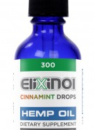 Elixinol Hemp Oil Drops Cinnamint (300mg)