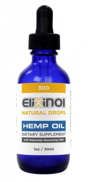 Elixinol Natural 300 Drops