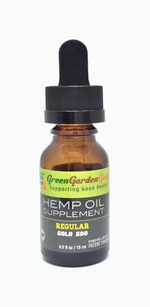 Green Garden Gold Drops 500mg Cbd Oil Review
