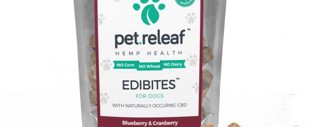 Pet Releaf Dog Treats – Blueberry & Cranberry – Small Breed