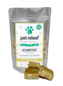 Pet Releaf Dog Treats – Peanut Butter Banana – Large Breed