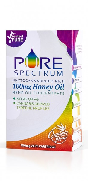 Pure Spectrum Natural Honey Cartridge