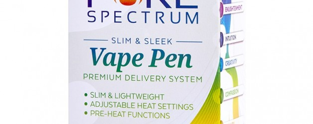 Pure Spectrum Tangerine Honey Oil + Vape Pen & Charger Kit (100mg)